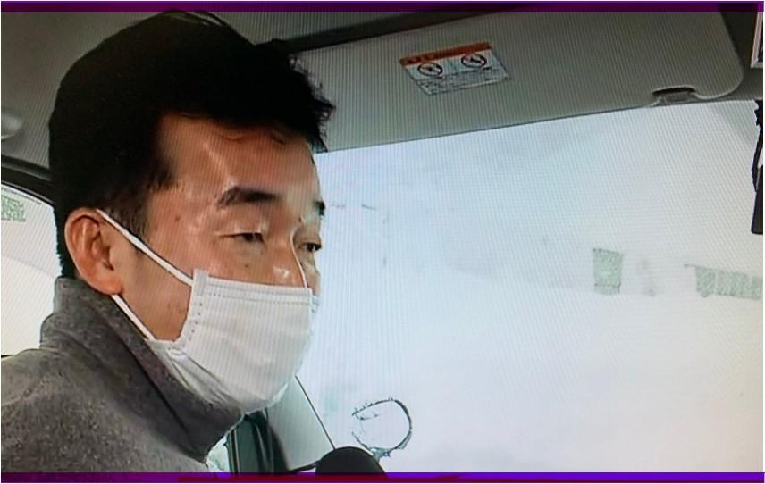【ミヤネ屋】中山リポーターが40時間立ち往生脱出後にもまた仕事?!心配の声まとめ