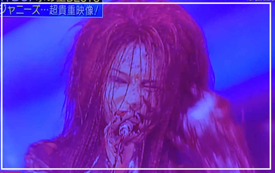 【Mステ】hideのDOUBTで黒い雨の貴重映像が流れる!ファン感動の声!