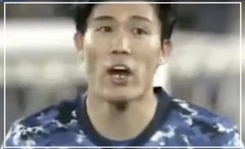 【動画】サッカー冨安健洋が韓国代表に肘打ちで歯が欠けた?!衝撃的な映像が拡散される!