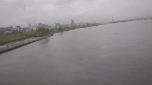 【氾濫】大阪淀川の水位が上がってきてる!現地の画像や様子まとめ!