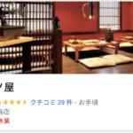 遠藤要の飲食店は「鶏ノ屋」?中目黒の店は臨時休業中だった!