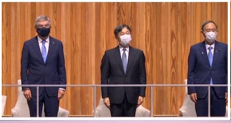 【開会式】天皇陛下とバッハが隣同士に炎上!「格が違う」「控えよ」と非難の嵐