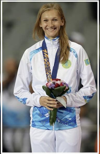 【開会式選手入場】カザフスタン旗手の女性は誰?オルガ・リパコワの夫や子供を調査!