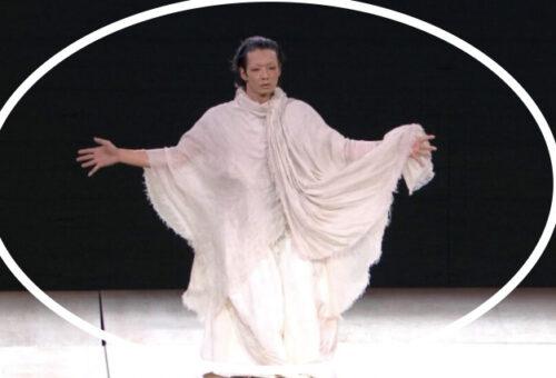 【開会式動画】森山未來のダンスが怖い?貞子のようでヤバすぎる!