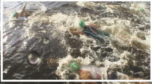 【画像】トライアスロン金メダリストが嘔吐?汚い東京湾で泳いだからだとネット炎上!