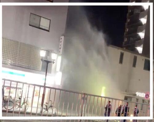 神戸市中央区の道路から水の噴出の原因は?水道管破裂の可能性を調査!